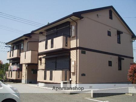千葉県富津市、青堀駅徒歩10分の築22年 2階建の賃貸アパート