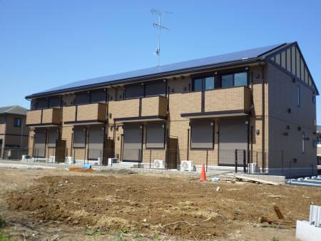 千葉県君津市、君津駅バス20分周南口下車後徒歩5分の築2年 2階建の賃貸アパート