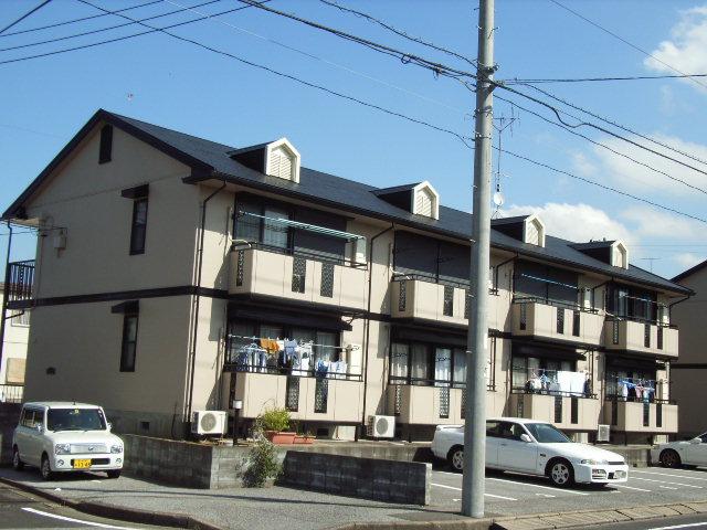 千葉県君津市、君津駅徒歩9分の築24年 2階建の賃貸アパート