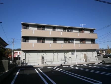 千葉県君津市、君津駅徒歩18分の築2年 3階建の賃貸アパート