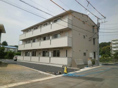 千葉県君津市の築2年 3階建の賃貸アパート