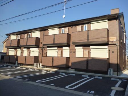 千葉県富津市、青堀駅徒歩18分の築2年 2階建の賃貸アパート