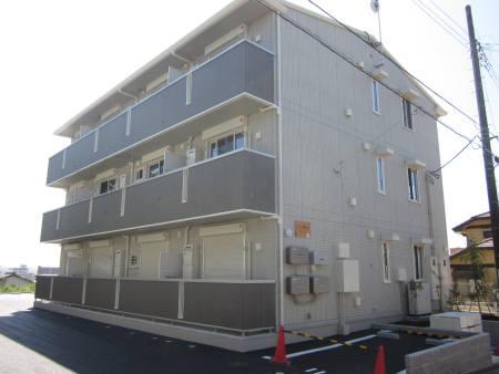 千葉県君津市、君津駅徒歩8分の築1年 3階建の賃貸アパート
