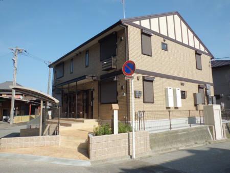 千葉県君津市、君津駅バス10分堺田公園下車後徒歩3分の築3年 2階建の賃貸アパート