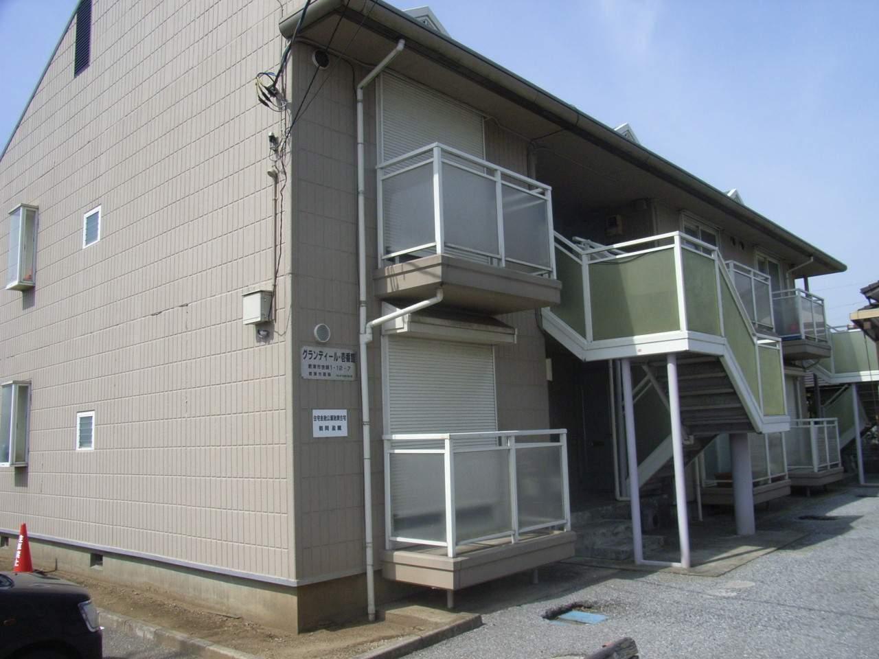 千葉県君津市、君津駅バス15分杢師下車後徒歩3分の築17年 2階建の賃貸アパート