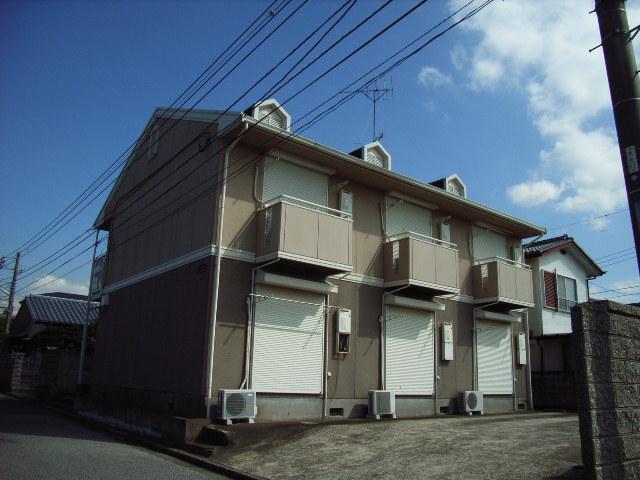 千葉県君津市、君津駅徒歩18分の築21年 2階建の賃貸アパート