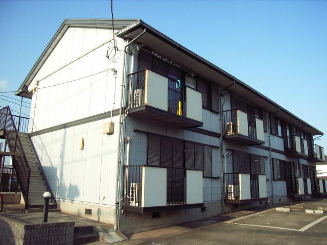 千葉県富津市、青堀駅徒歩10分の築21年 2階建の賃貸アパート