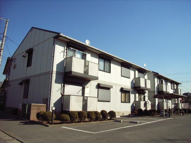 千葉県富津市、青堀駅徒歩10分の築20年 2階建の賃貸アパート