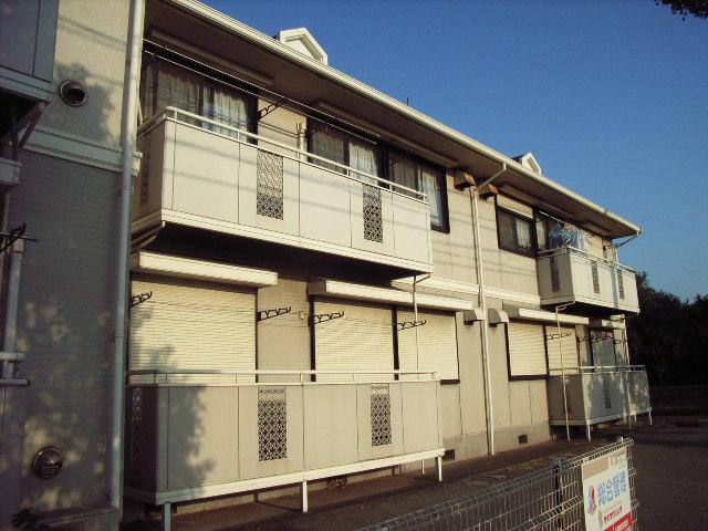 千葉県富津市、青堀駅徒歩14分の築23年 2階建の賃貸アパート