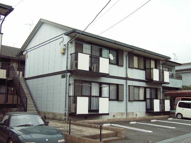 千葉県君津市、君津駅バス10分県営住宅入口下車後徒歩5分の築21年 2階建の賃貸アパート