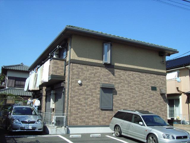 千葉県君津市、君津駅バス10分山王下下車後徒歩5分の築15年 2階建の賃貸アパート