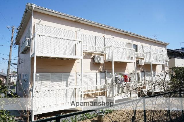 千葉県袖ケ浦市、長浦駅徒歩5分の築23年 2階建の賃貸アパート