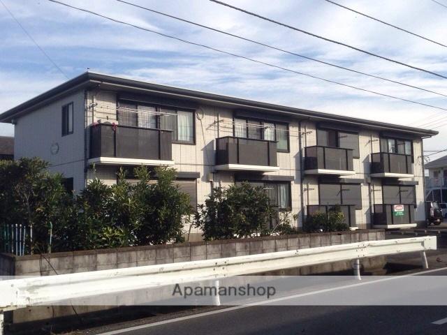 千葉県木更津市、巌根駅バス8分西山下車後徒歩2分の築22年 2階建の賃貸アパート