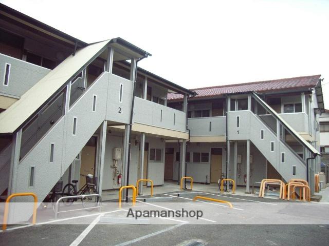 千葉県木更津市、木更津駅徒歩10分の築42年 2階建の賃貸アパート