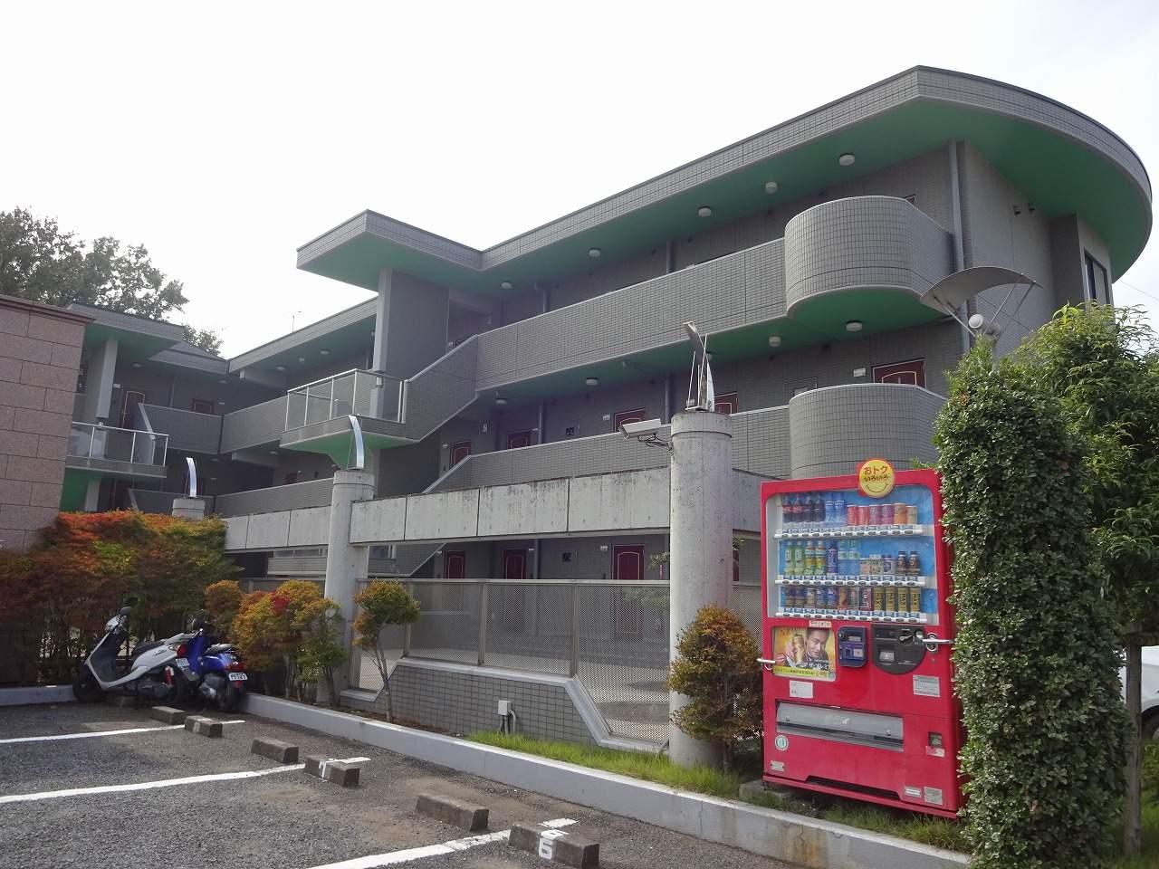 千葉県流山市、運河駅徒歩11分の築19年 3階建の賃貸マンション