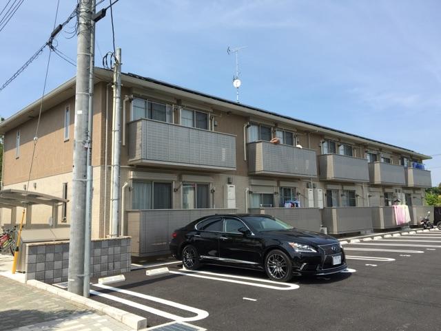 千葉県野田市、清水公園駅徒歩16分の築1年 2階建の賃貸アパート
