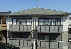 千葉県野田市、梅郷駅徒歩10分の築17年 2階建の賃貸アパート