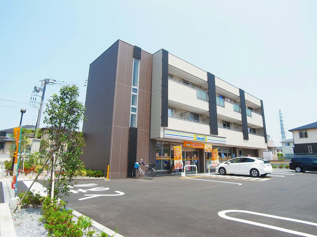 千葉県流山市、流山おおたかの森駅徒歩10分の新築 3階建の賃貸アパート