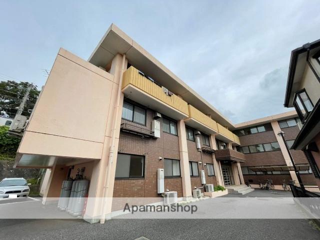 千葉県成田市、成田駅徒歩7分の築26年 3階建の賃貸マンション