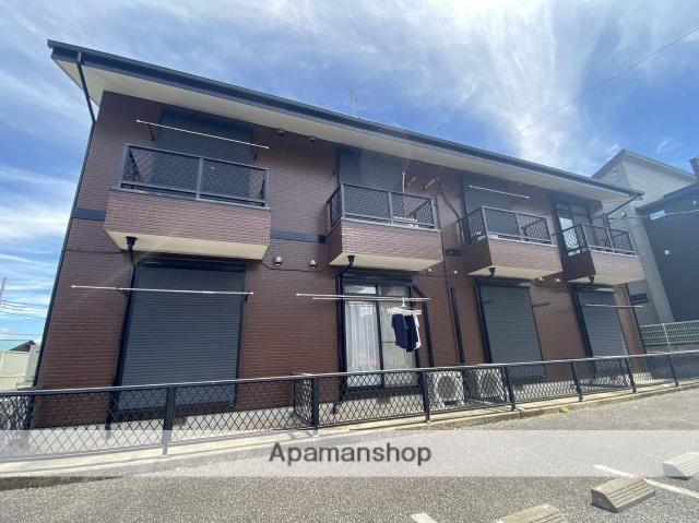 千葉県成田市、成田駅徒歩23分の築17年 2階建の賃貸アパート