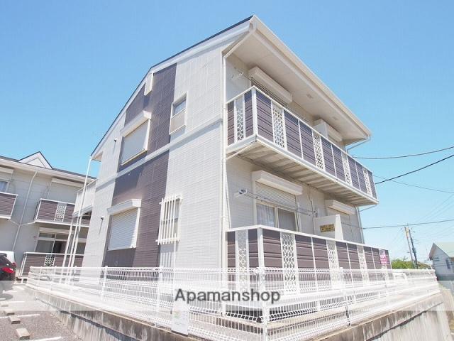千葉県成田市、成田駅バス5分ナリタヤ・法務局前下車後徒歩2分の築22年 2階建の賃貸アパート
