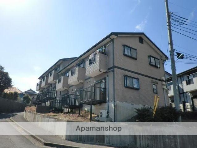 千葉県成田市、成田駅徒歩21分の築19年 2階建の賃貸アパート
