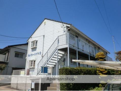千葉県成田市、成田駅徒歩20分の築25年 2階建の賃貸アパート