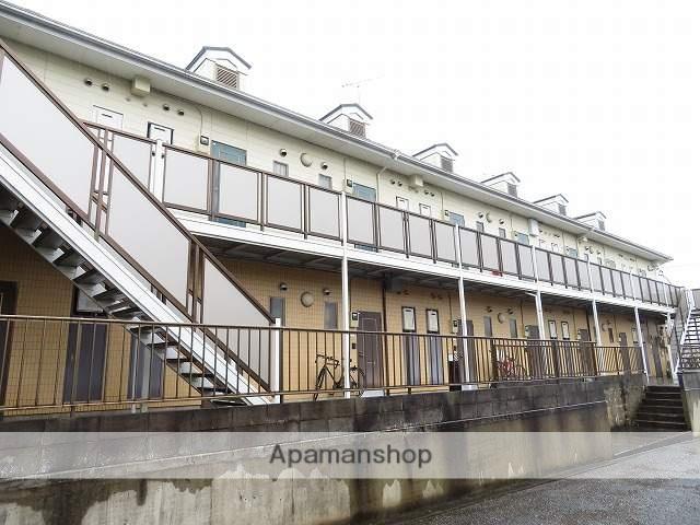 千葉県成田市、成田駅徒歩22分の築24年 2階建の賃貸アパート
