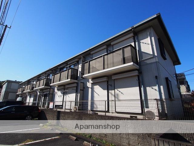 千葉県成田市、成田駅徒歩32分の築22年 2階建の賃貸アパート