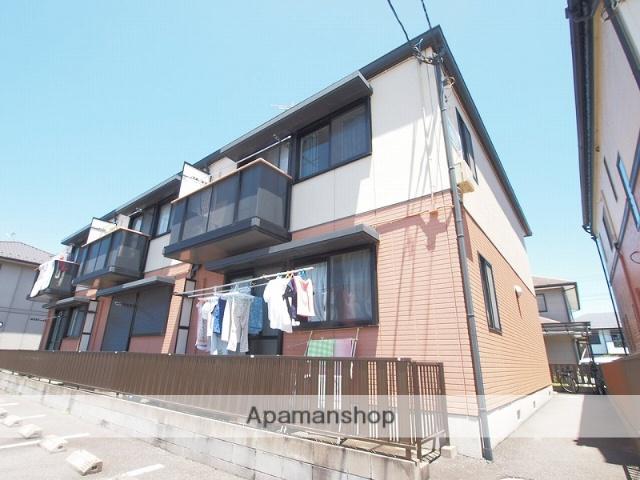 千葉県成田市、成田駅徒歩32分の築23年 2階建の賃貸アパート