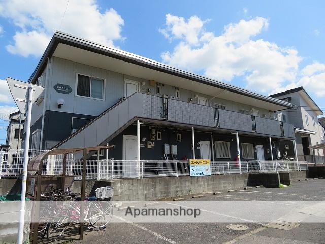千葉県成田市、成田湯川駅徒歩33分の築21年 2階建の賃貸アパート