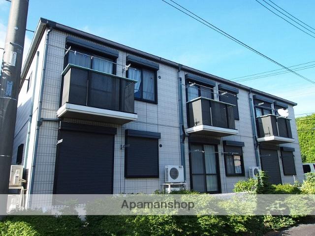 千葉県成田市、成田駅徒歩19分の築19年 2階建の賃貸アパート
