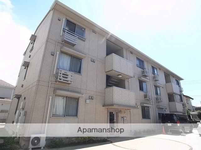 千葉県柏市、南柏駅バス15分増田新田下車後徒歩1分の築5年 3階建の賃貸アパート