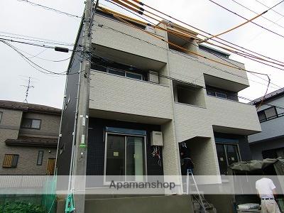 千葉県松戸市、新松戸駅徒歩11分の新築 3階建の賃貸アパート
