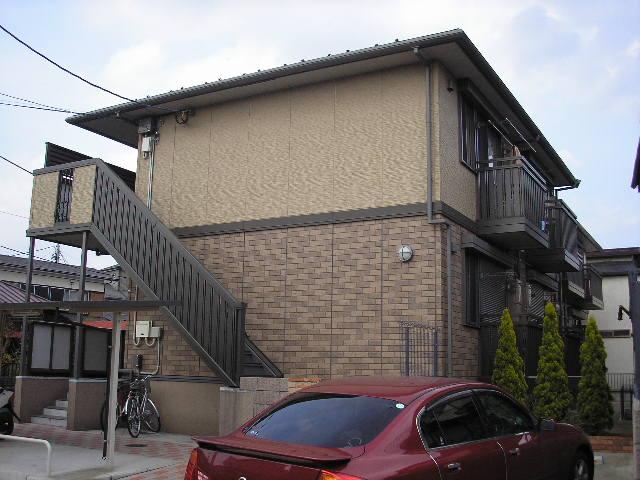 千葉県千葉市中央区、千葉駅バス5分亀井町下車後徒歩3分の築12年 2階建の賃貸アパート