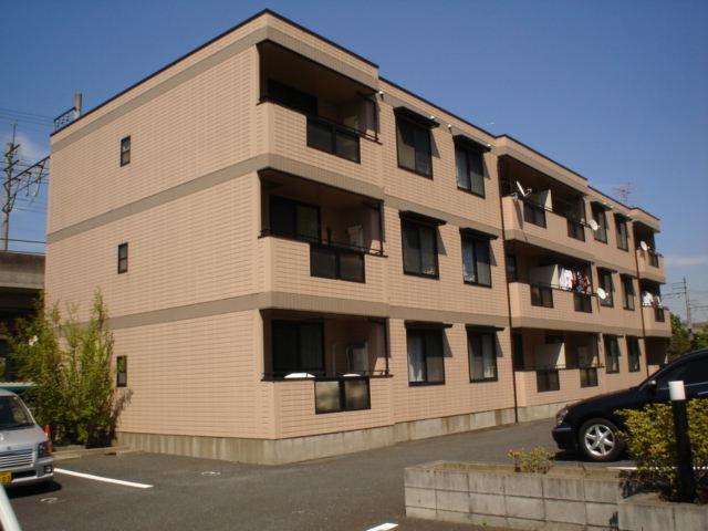 千葉県千葉市中央区、蘇我駅徒歩17分の築23年 3階建の賃貸アパート