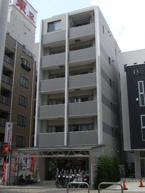 千葉県千葉市中央区、千葉駅徒歩4分の築8年 6階建の賃貸マンション