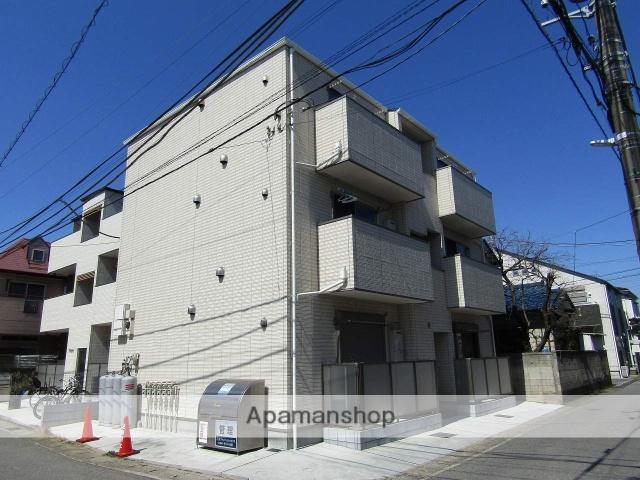 千葉県千葉市中央区、東千葉駅徒歩10分の築1年 3階建の賃貸アパート
