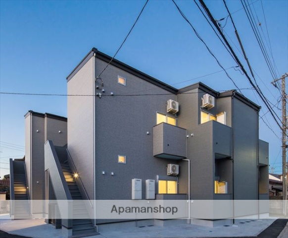 千葉県千葉市中央区、本千葉駅徒歩13分の築2年 2階建の賃貸アパート