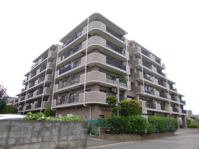 千葉県習志野市、京成大久保駅徒歩6分の築20年 6階建の賃貸マンション