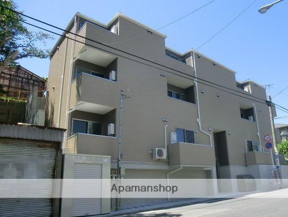 千葉県千葉市中央区、東千葉駅徒歩3分の築5年 3階建の賃貸アパート