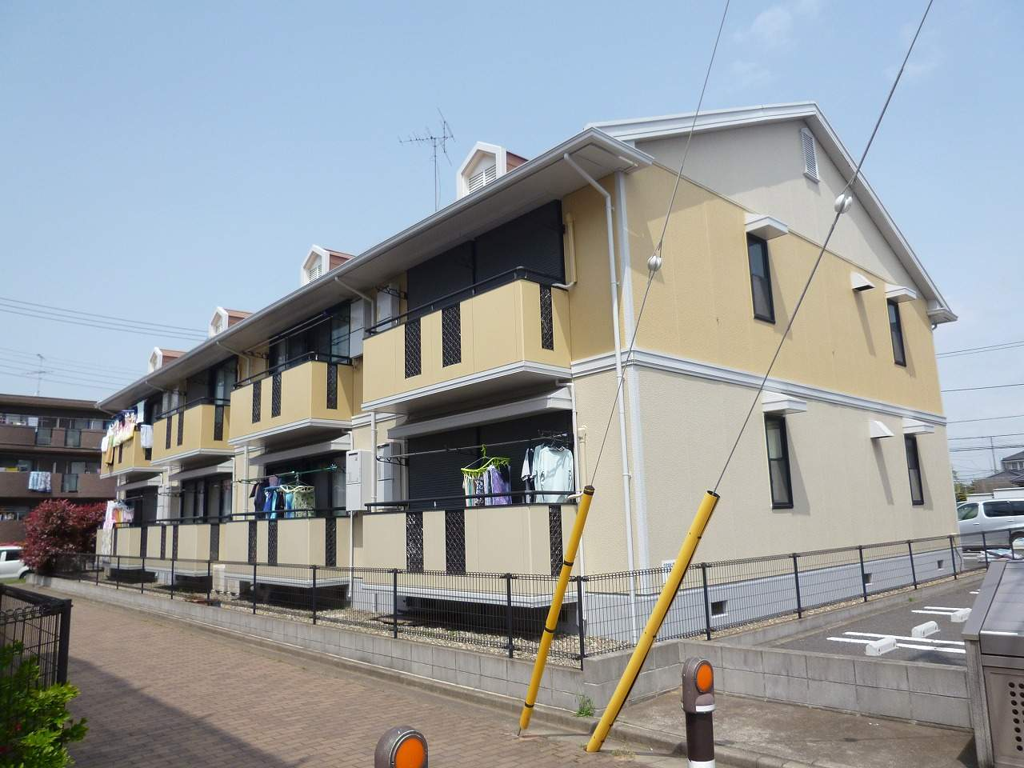 千葉県千葉市稲毛区、新検見川駅徒歩16分の築20年 2階建の賃貸アパート