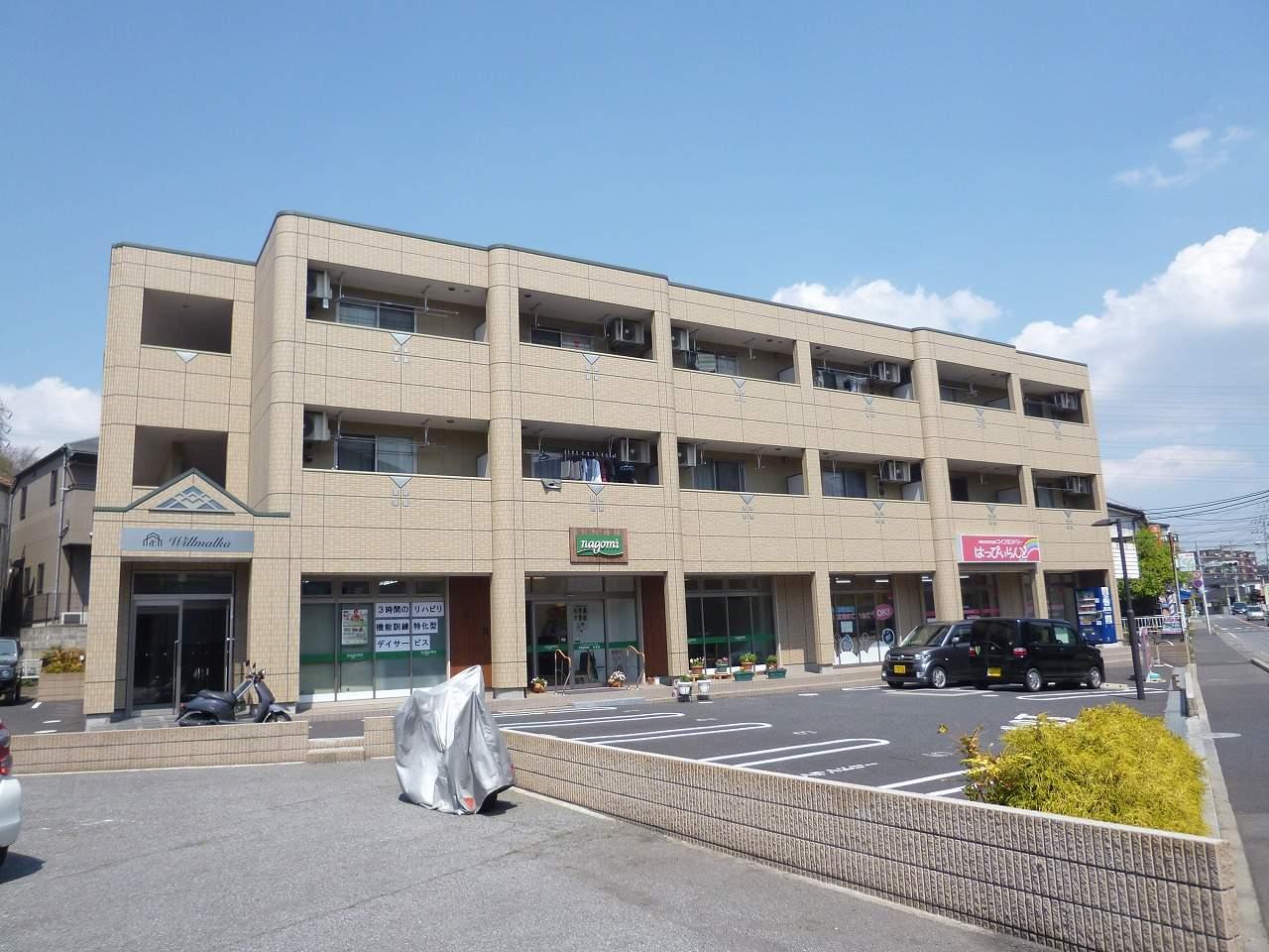 千葉県千葉市稲毛区、作草部駅徒歩14分の築7年 3階建の賃貸マンション
