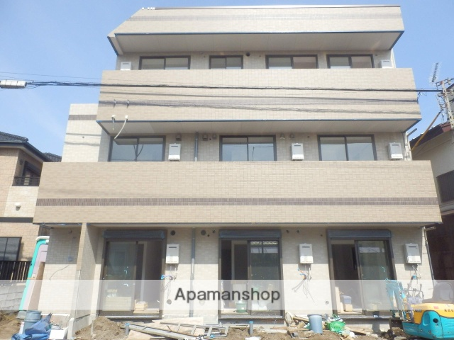 千葉県千葉市中央区、蘇我駅徒歩11分の築1年 3階建の賃貸マンション