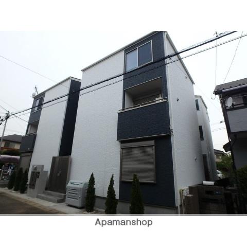 千葉県千葉市稲毛区、作草部駅徒歩12分の新築 3階建の賃貸アパート