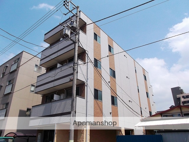 千葉県千葉市中央区、千葉駅徒歩9分の築3年 4階建の賃貸マンション