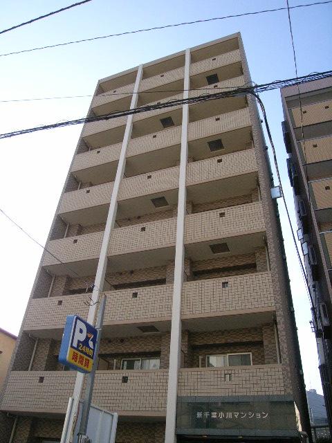 千葉県千葉市中央区、千葉駅徒歩4分の築9年 8階建の賃貸マンション