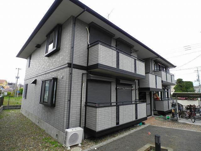 千葉県松戸市、矢切駅徒歩13分の築17年 2階建の賃貸アパート