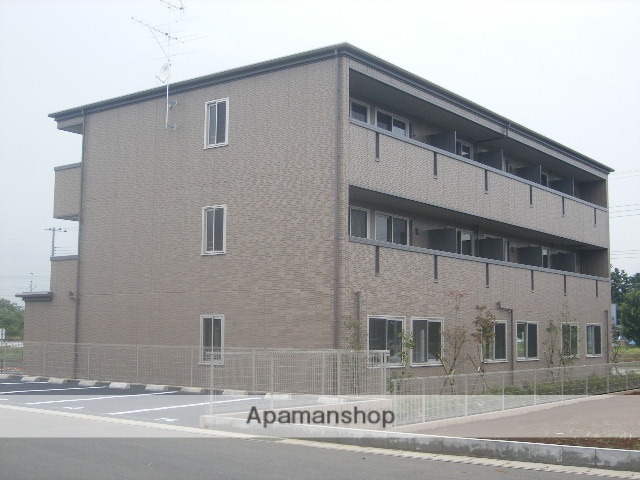 千葉県流山市、流山おおたかの森駅徒歩7分の築9年 3階建の賃貸マンション