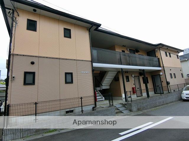千葉県松戸市、松戸駅徒歩10分の築24年 2階建の賃貸アパート